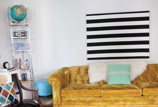 Stripes janae living room
