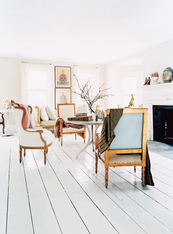 Renovations And Inspirations Painted Wood Floors Lovely Chaos