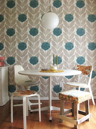 wallpaper orla kiely dottie angel