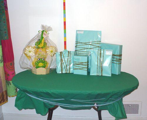 Birthday present table