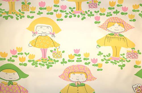 Wallpaper little girl yellow