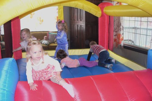 Birthday bounce house 3