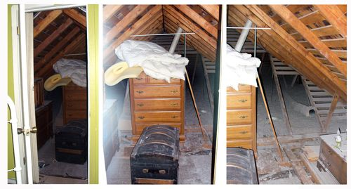 Master suite attic 1