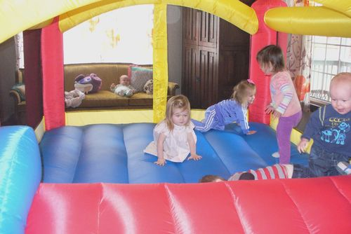 Birthday bounce house 2