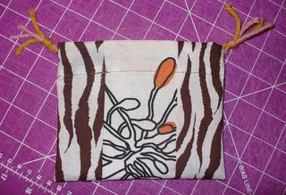Gift bag diy finished untied