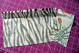 Gift bag iron edges