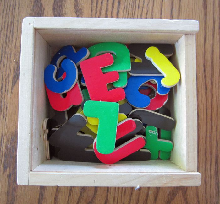 Life lu w magnetic alphabet letters 2
