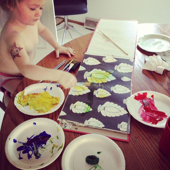 Lula painting