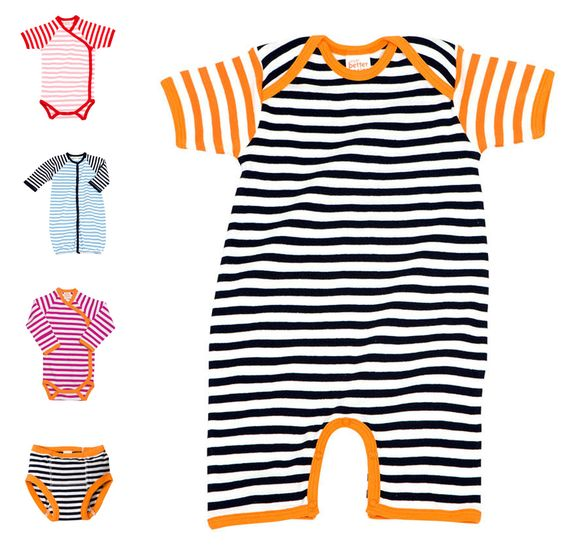 Giggle stripes striped baby clothes
