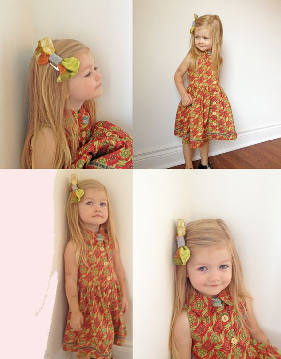 Matilda jane dress hair bow naartjie romper lula copy