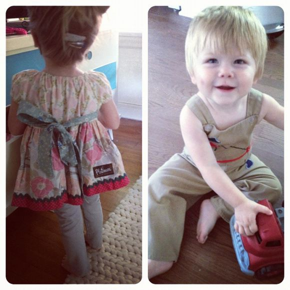 Matilda jane peasant top vintage baby romper overalls 1