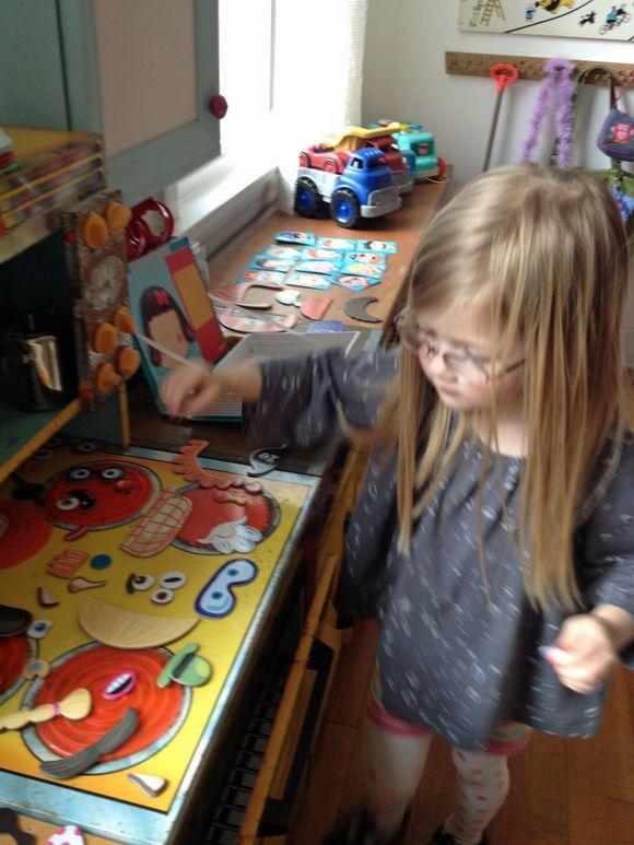 Clean playroom no clutter lula