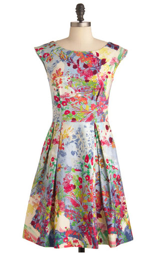 Floral dress lendperk