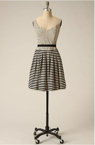 Lendperk anthropologie striped dress
