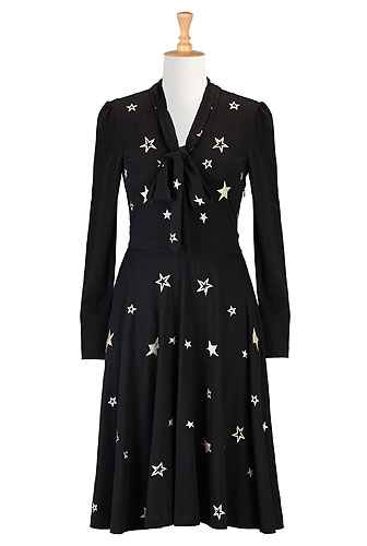 Eshakti starry nights knit dress