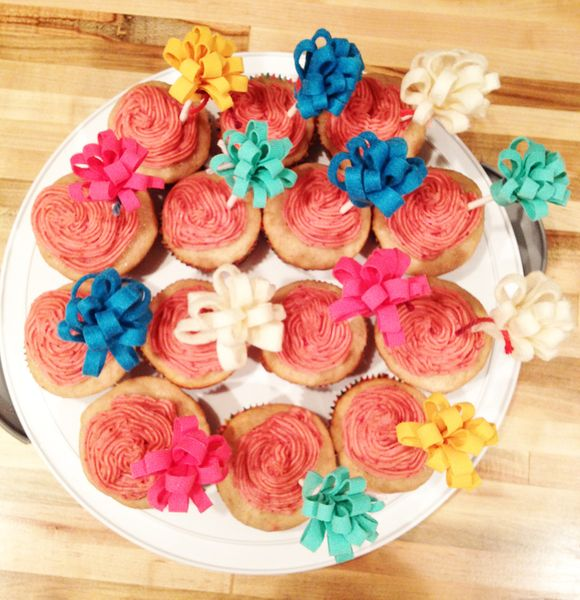April birthday cupcakes 2