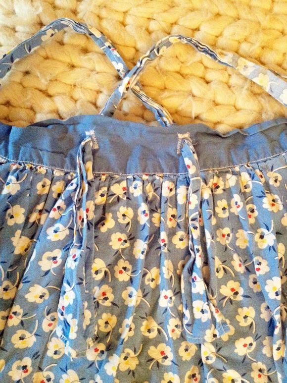 Diy vintage apron dress 3