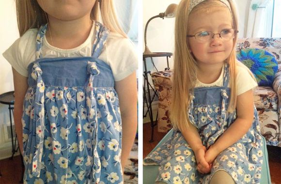 Diy vintage apron dress 5