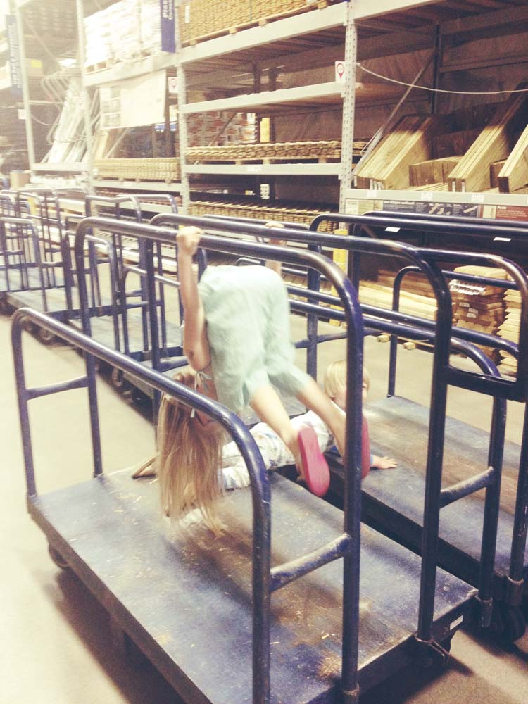 July gymnastics girl at lowes 4