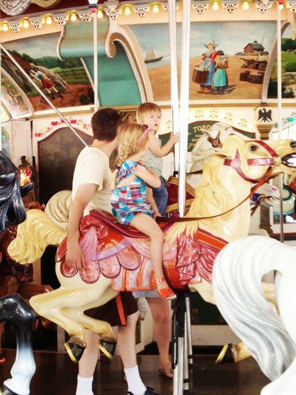 June trip hershey park carousel