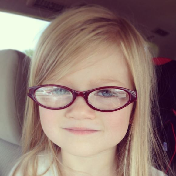 August red eyeglasses for lula