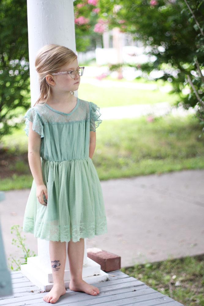 August pink eyeglasses serious 6